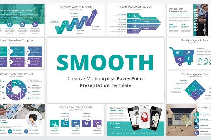 Smooth multipurpose PowerPoint Presentation Template