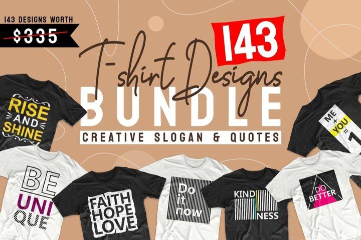 T-shirt Designs Bundle SVG Quotes bundle SVG PNG EPS