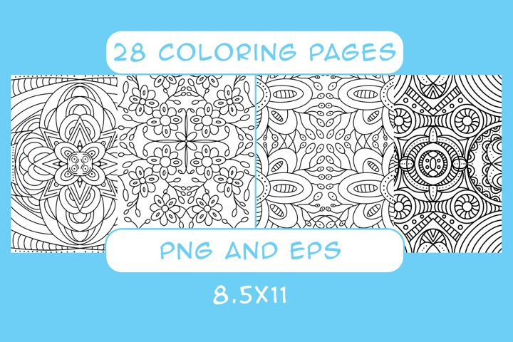 28 Coloring Pages