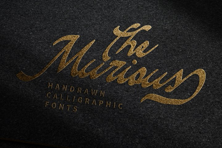 The Murious- Calligraphy Fonts