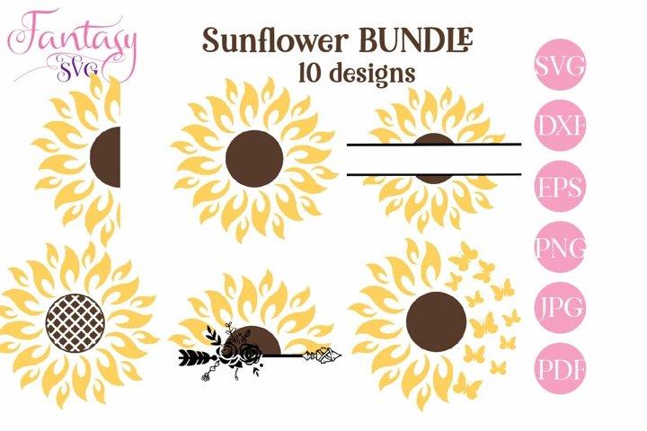 Sunflower Bundle - SVG Cut Files