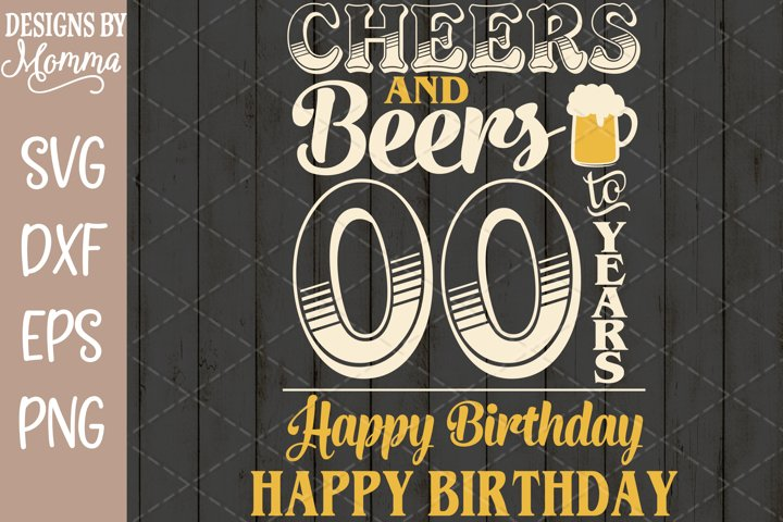 Cheers and Beers ALL Numbers Included Caps and Script Pack