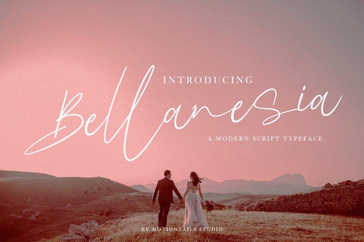 Bellanesia Modern Script