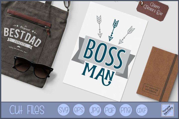 Boss Man - SVG, Clipart, Graphic