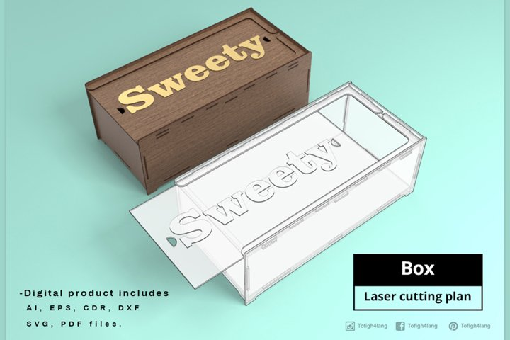 BOX - laser cut file