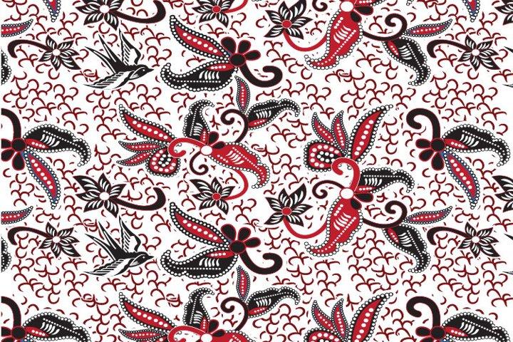 batik ornamet - vector