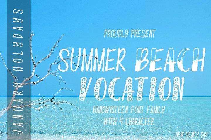Summer Beach Vocation