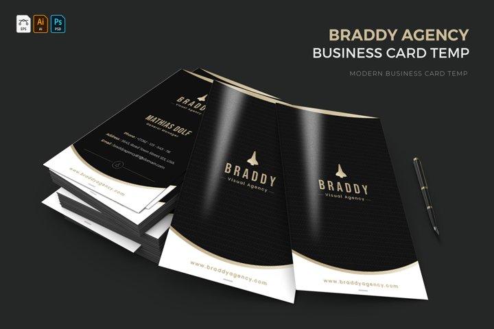 Braddy Agency | Business Card