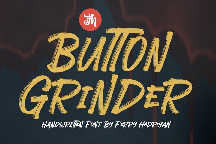 Button Grinder - Display Font