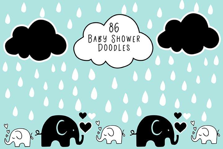 Baby Shower Doodles