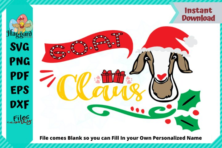 G.O.A.T BLANK Claus