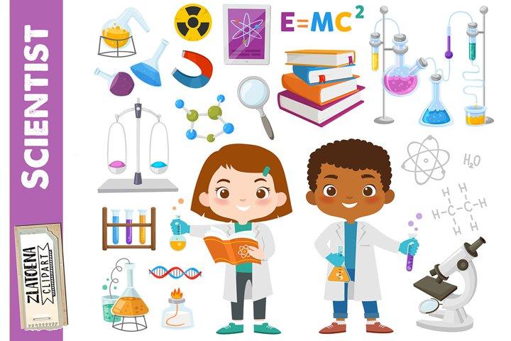 Science Clipart Scientist Clip Art Science lab school