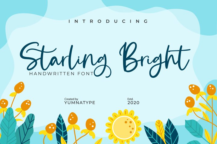 Starling Bright-Elegant Handwritten Font
