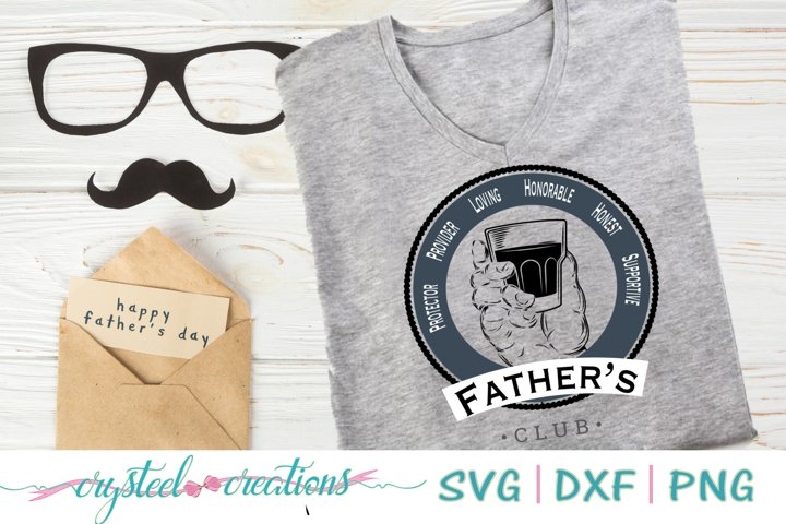 Fathers Club SVG, DXF, PNG