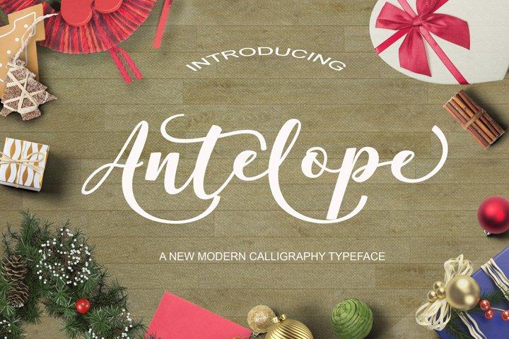 Antelope Script - Free Font of The Week Font