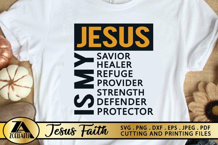 Jesus SVG PNG EPS DXF File BIBLE SVG Cross SVG GOD SVG
