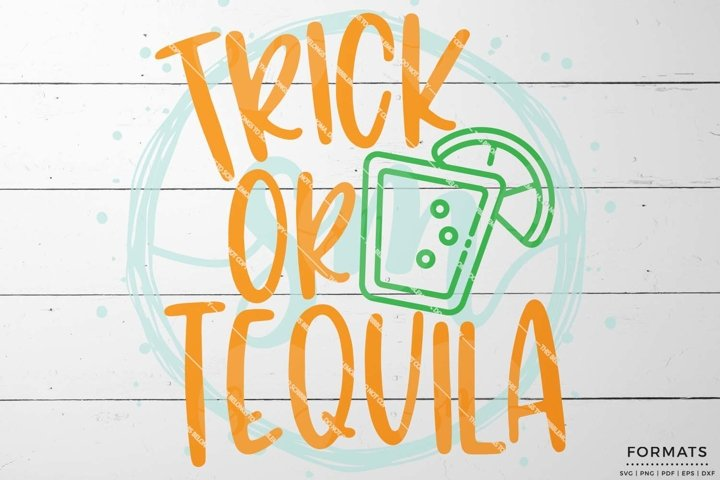 Trick or Tequila SVG