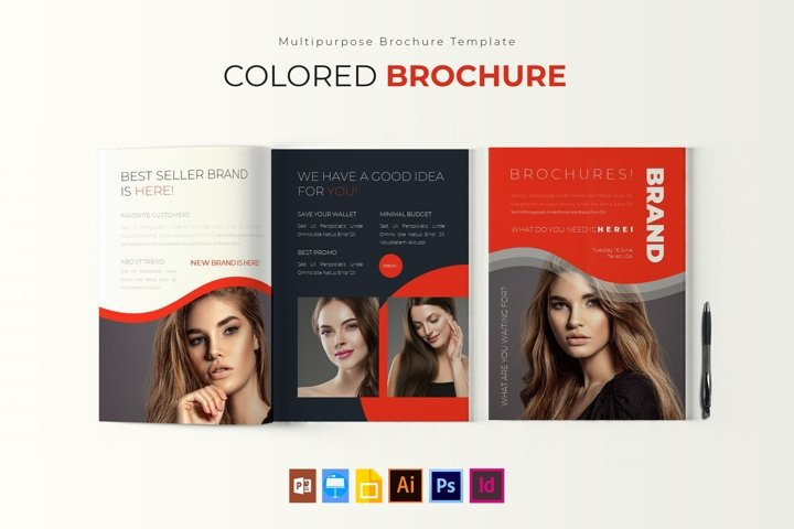 Colored | Brochure Template