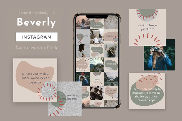 Beverly - Instagram Template