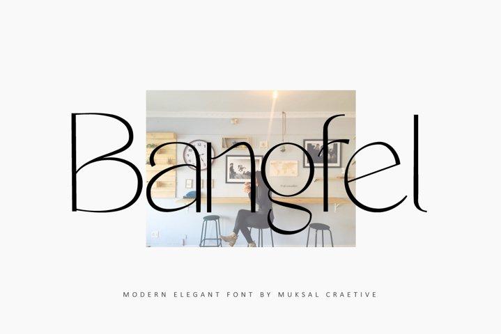 Bangfel