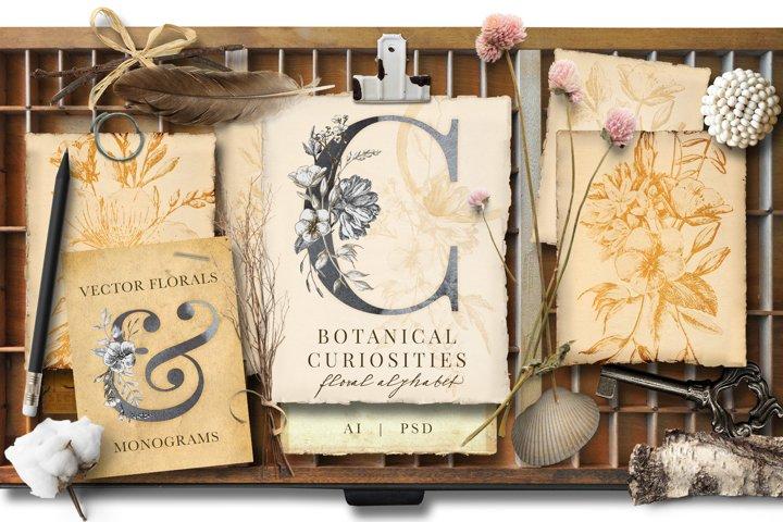 Botanical Curiosities Monogram Bundle