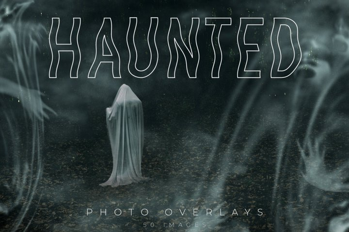 Haunted Photo Overlays