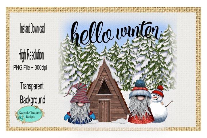 Hello Winter, Winter Gnome