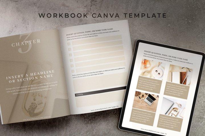 Workbook Canva Template   Mink