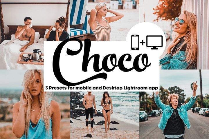 Choco - Lightroom Mobile and Desktop Presets