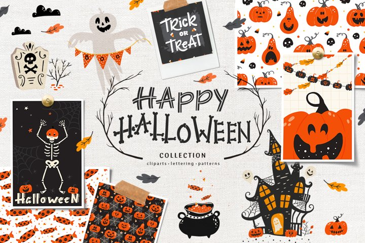 Happy Halloween mystery collection