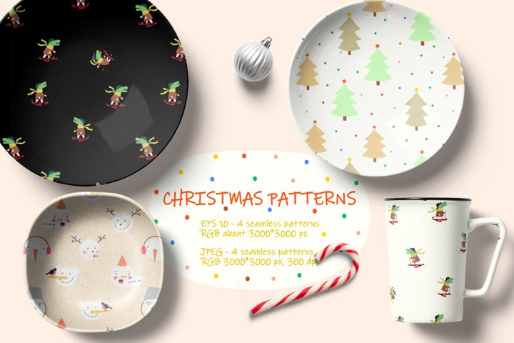 Adorable Christmas patterns