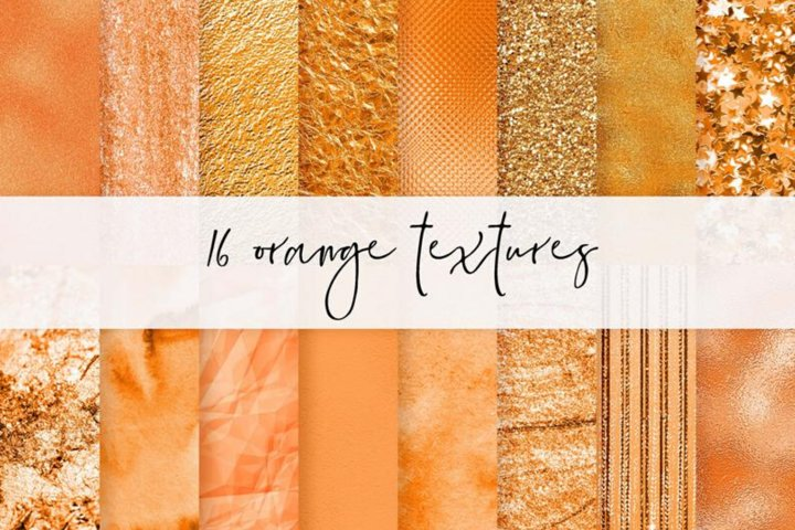 Glitter Autumn Digital Papers, Fall Scrapbook Papers, Thanks
