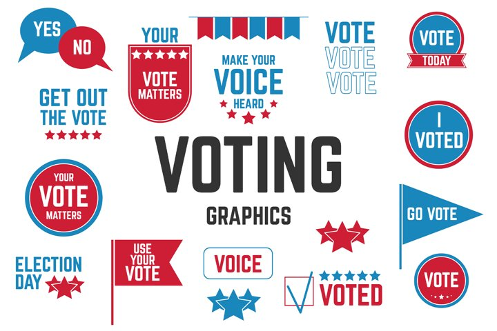 Voting Graphics png vector