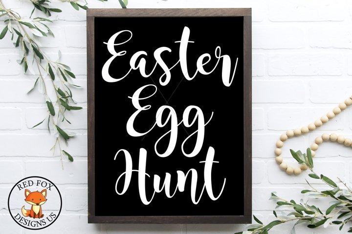 Easter Egg Hunt SVG | Easter Files | SVG PNG DXF Cut Files