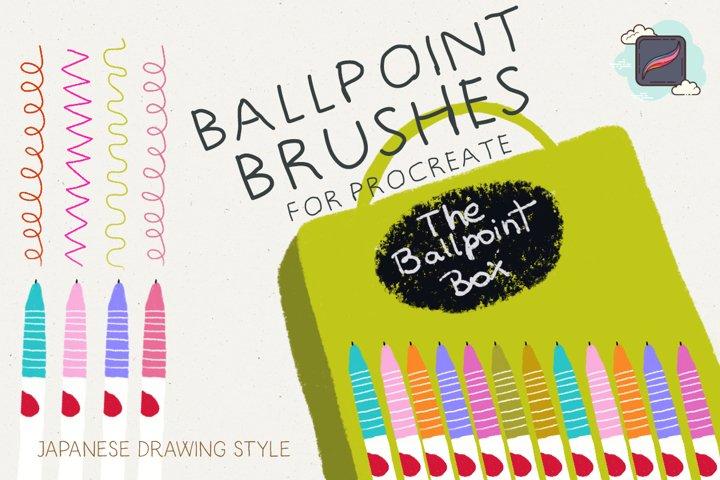 The Procreate Ballpoint Box