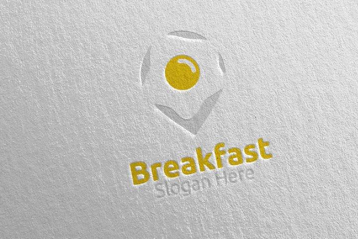 Breakfast Fast Food Delivery Logo 9