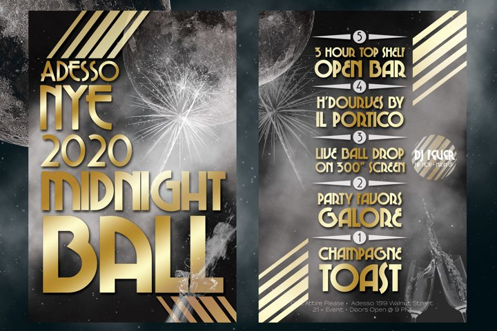 2020 NYE New Years Eve Flyer