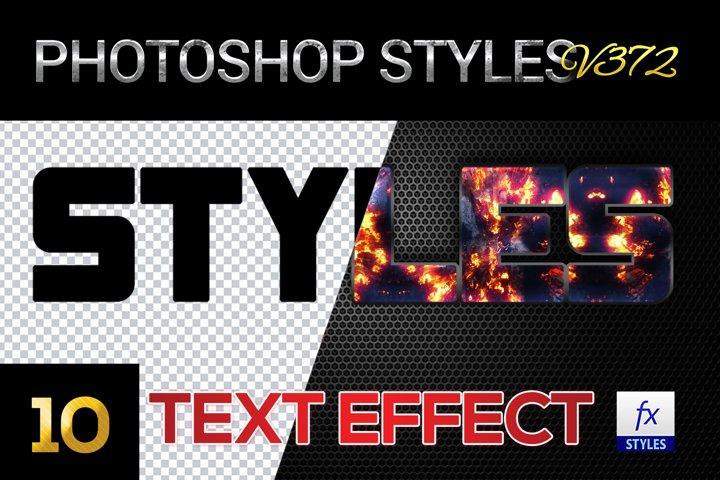 10 creative Unique Photoshop Styles V372