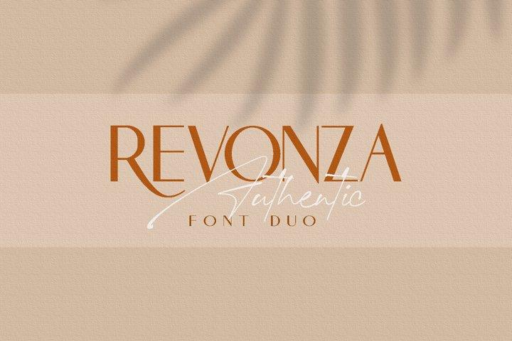 REVONZA SANS - FONT DUO