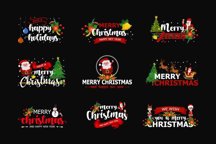 Merry Christmas SVG Bundles
