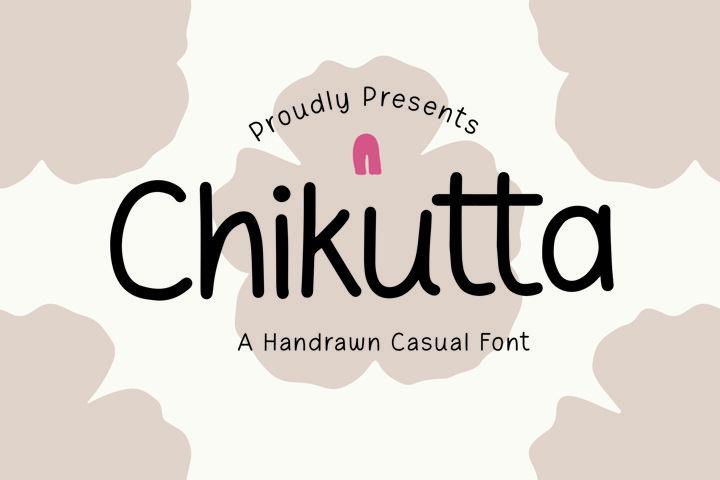 Chikutta - Handrawn Casual Font
