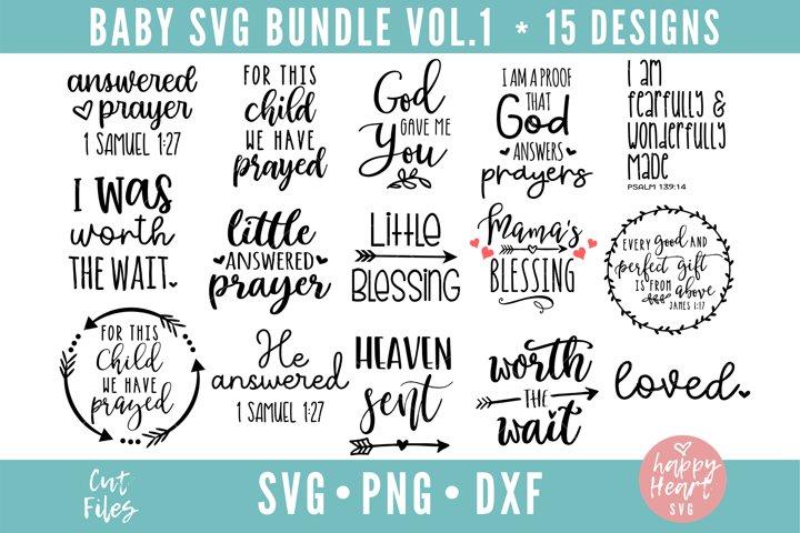 Baby Bundle - 15 Designs