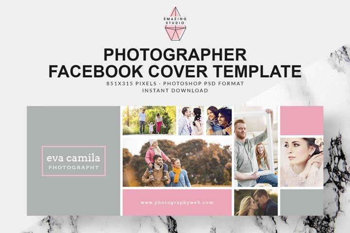 Photographer Facebook Cover Template - FBC001
