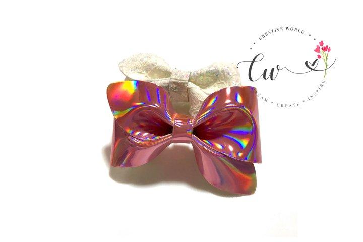 New Cute Mini Pinch Hair Bow Digital Template | Bow Template