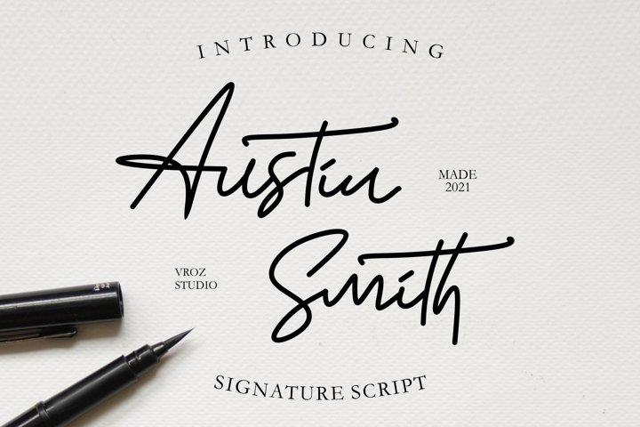 Austin Smith - Signature Script