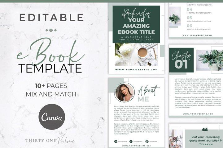 eBook Template for Canva | Eucalyptus