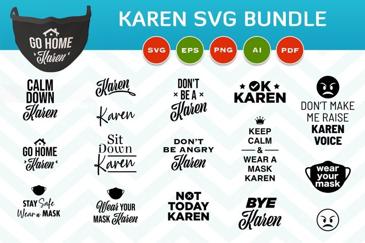 Karen svg bundle, Karen SVG, Not today Karen