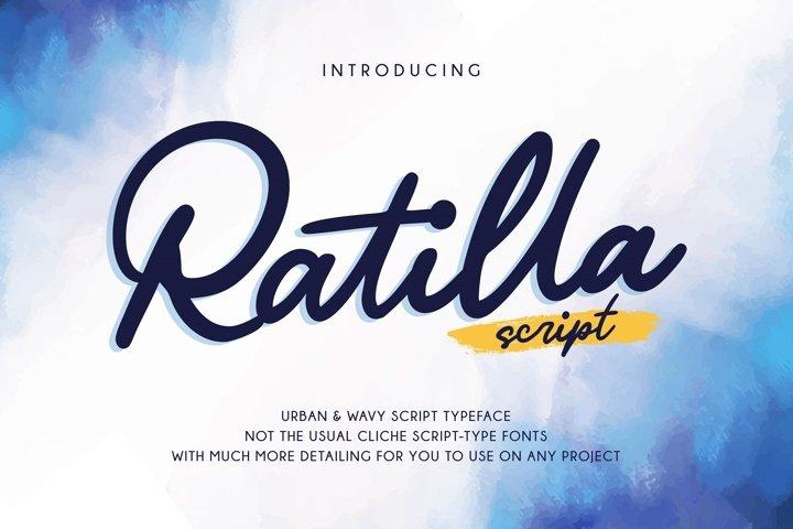 Ratilla - Script Font