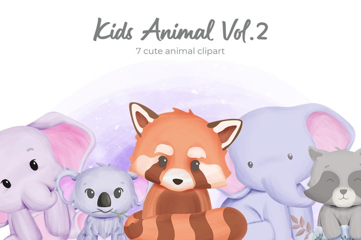Kids Animal Vol.2