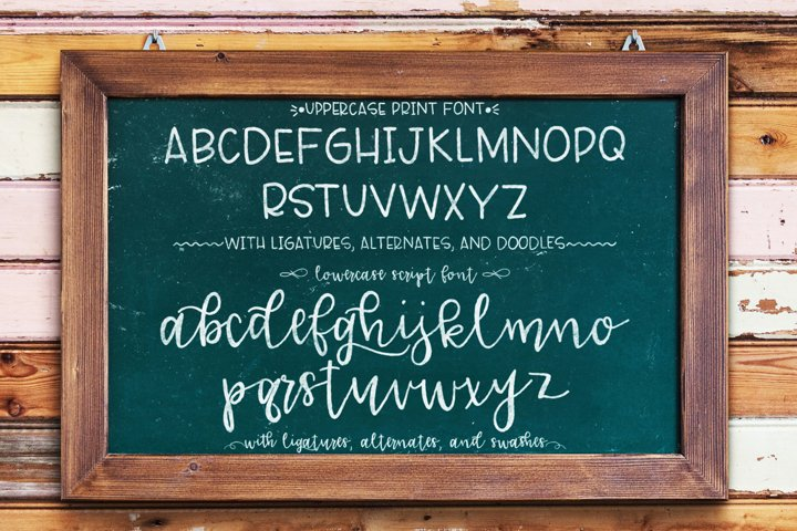 Lucille Handlettered Duo - Free Font of The Week Design0